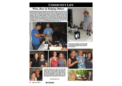 Wine, Beer & Helping Others